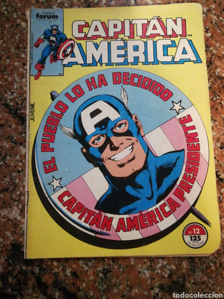 FORUM COMICS MARVEL, CAPITAN AMERICA, N°12 (Tebeos y Comics - Forum - Capitán América)