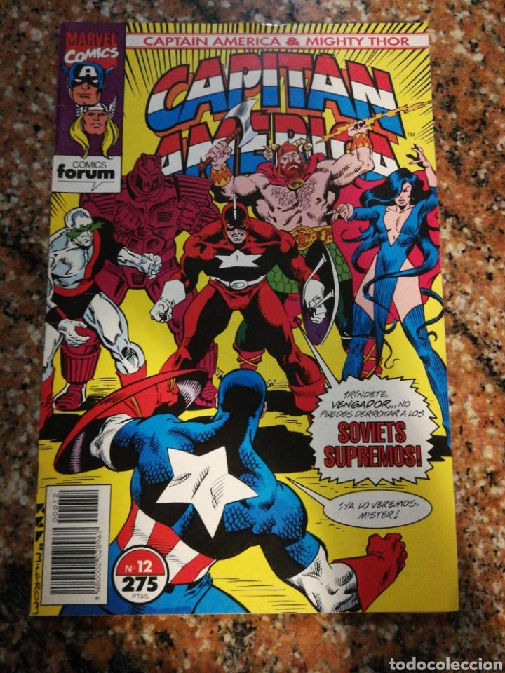 FORUM COMICS MARVEL, CAPITAN AMERICA, EL GRAN OSO N°12 (Tebeos y Comics - Forum - Capitán América)