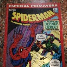 Cómics: FORUM COMICS MARVEL, SPIDERMAN ESPECIAL PRIMAVERA POR STAN LEE, JOHN ROMITA Y GIL KANE. ¡EL PODER DE. Lote 156773293