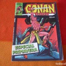Cómics: CONAN EL BARBARO ESPECIAL PRIMAVERA 1987 ( THOMAS GIL KANE ) ¡BUEN ESTADO! FORUM MARVEL . Lote 156790110