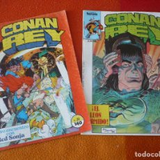 Cómics: CONAN REY NºS 31 Y 33 ( ZELENETZ SILVESTRI ) ¡BUEN ESTADO! FORUM MARVEL . Lote 156790538
