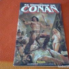 Cómics: EL UNIVERSO DE CONAN FORUM . Lote 156864410