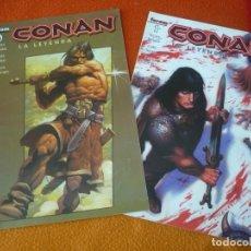 Cómics: CONAN LA LEYENDA NºS 0 Y 1 ( KURT BUSIEK CARY NORD ) ¡MUY BUEN ESTADO! FORUM MARVEL. Lote 156864682