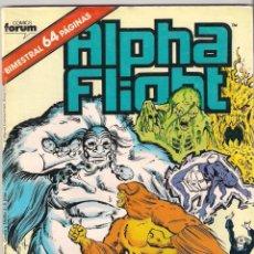 Cómics: ALPHA FLIGHT & LA MASA VOLUMEN 1. Nº 36 . 64 PÁGINAS.. Lote 156876186