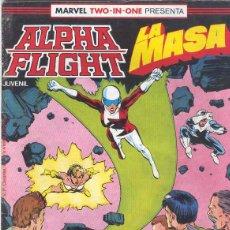 Cómics: ALPHA FLIGHT & LA MASA VOLUMEN 1. Nº 39 . 64 PÁGINAS.. Lote 156876282