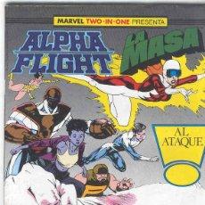 Cómics: ALPHA FLIGHT & LA MASA VOLUMEN 1. Nº 42. 64 PÁGINAS.. Lote 156876450