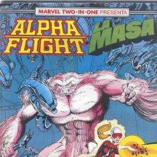 Cómics: ALPHA FLIGHT & LA MASA VOLUMEN 1. Nº 48. 64 PÁGINAS.. Lote 156876514