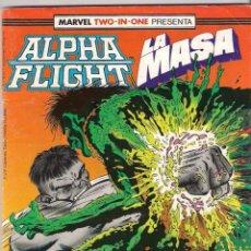 Cómics: ALPHA FLIGHT & LA MASA VOLUMEN 1. Nº 51. 64 PÁGINAS.. Lote 156876562