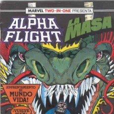 Cómics: ALPHA FLIGHT & LA MASA VOLUMEN 1. Nº 50. 64 PÁGINAS.. Lote 156876646