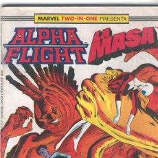 Cómics: ALPHA FLIGHT & LA MASA VOLUMEN 1. Nº 43. 64 PÁGINAS.. Lote 156876694