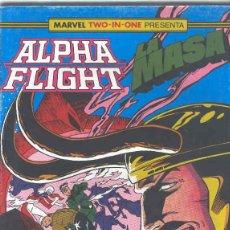 Cómics: ALPHA FLIGHT & LA MASA VOLUMEN 1. Nº 44 64 PÁGINAS.. Lote 156876750