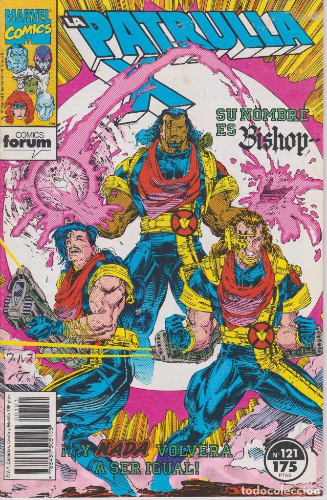 LA PATRULLA X Nº 121 COMICS FORUM 1992 (Tebeos y Comics - Forum - Patrulla X)