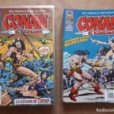Cómics: CONAN EL BÁRBARO 1 A 50 - FALTAN 40 42 Y 44 - 1998-2001 - EDICIÓN CRONOLÓGICA - FORUM - JMV. Lote 156882010