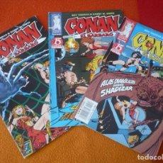 Cómics: CONAN EL BARBARO 2ª EDICION NºS 4, 5 Y 6 ( ROY THOMAS BARRY W. SMITH ) ¡BUEN ESTADO! FORUM MARVEL . Lote 156960518