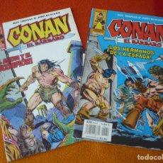 Cómics: CONAN EL BARBARO 2ª EDICION NºS 53 Y 54 ( ROY THOMAS JOHN BUSCEMA ) ¡BUEN ESTADO! FORUM MARVEL . Lote 156960954
