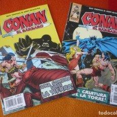 Cómics: CONAN EL BARBARO 2ª EDICION NºS 56 Y 57 ( ROY THOMAS JOHN BUSCEMA ) ¡BUEN ESTADO! FORUM MARVEL . Lote 156961010