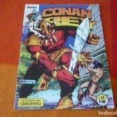 Cómics: CONAN REY Nº 12 ( MOENCH CHAN ) ¡BUEN ESTADO! FORUM MARVEL. Lote 156961918