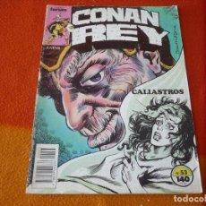 Cómics: CONAN REY Nº 53 ( KRAAR DOCHERTY ) FORUM MARVEL. Lote 156962038