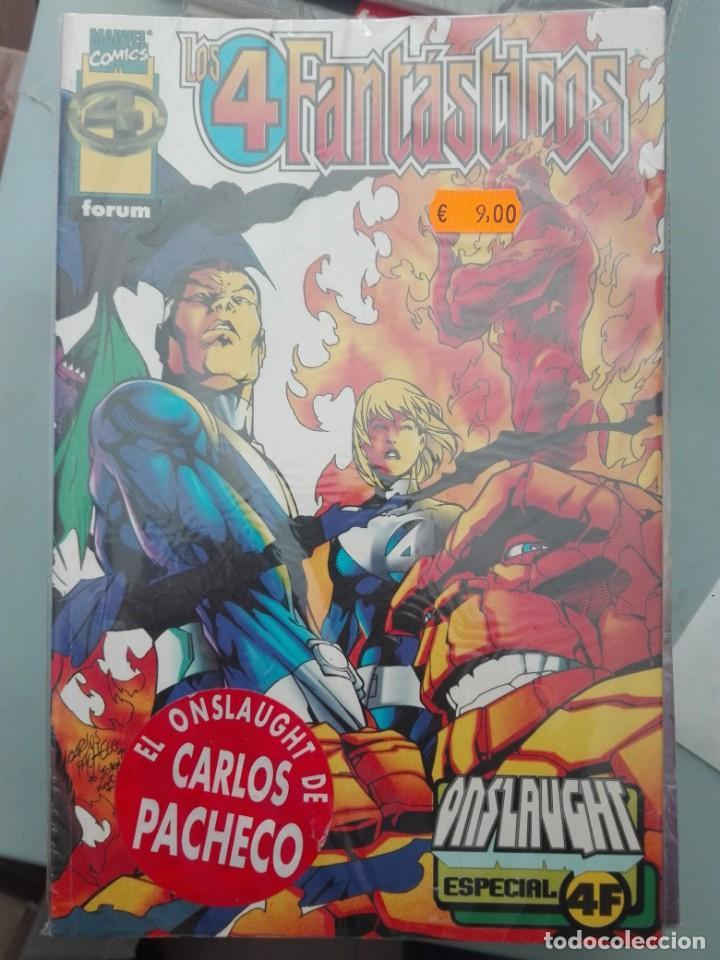 LOS 4 FANTÁSTICOS ONSLAUGHT# A (Tebeos y Comics - Forum - Prestiges y Tomos)