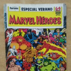 Cómics: MARVEL HÉROES - ESPECIAL VERANO. Lote 156965890