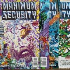 Cómics: MAXIMUN SECURITY - 4 NºS, MINISERIE COMPLETA - ED. FORUM. Lote 156966386