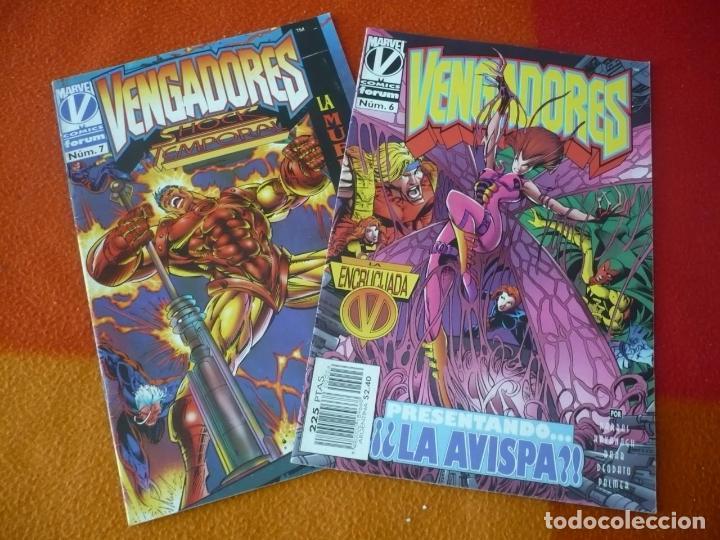 LOS VENGADORES VOL. 2 NºS 6 Y 7 ( KAVANAGH HARRAS DEODATO ) ¡BUEN ESTADO! MARVEL FORUM (Tebeos y Comics - Forum - Vengadores)