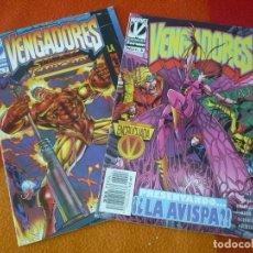 Cómics: LOS VENGADORES VOL. 2 NºS 6 Y 7 ( KAVANAGH HARRAS DEODATO ) ¡BUEN ESTADO! MARVEL FORUM . Lote 156966518