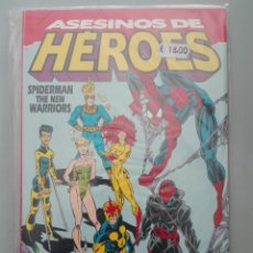 Cómics: ASESINOS DE HEROES SPIDERMAN THE NEW WARRIORS# A. Lote 156966530