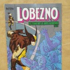 Cómics: LOBEZNO, EL CASO DE LA JOYA GEHENNA - CAP. 6, Nº 16. Lote 156966966