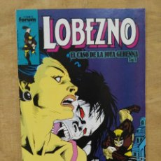 Cómics: LOBEZNO, EL CASO DE LA JOYA GEHENNA - CAP. 5, Nº 15. Lote 156967046
