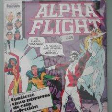 Cómics: ALPHA FLIGHT 27 AL 31 #A. Lote 156967382