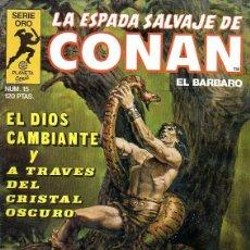Cómics: LA ESPADA SALVAJE DE CONAN Nº 15. Lote 157032686