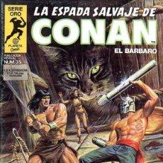 Cómics: LA ESPADA SALVAJE DE CONAN Nº 35. Lote 157033302