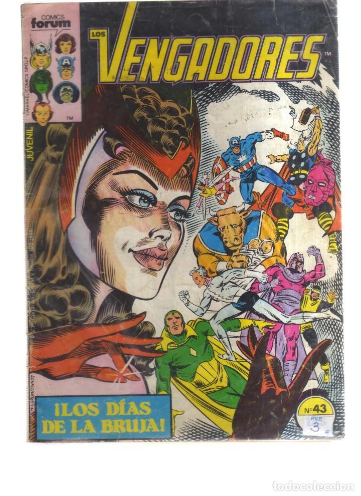 LOS VENGADORES FORUM N,43 (Tebeos y Comics - Forum - Vengadores)