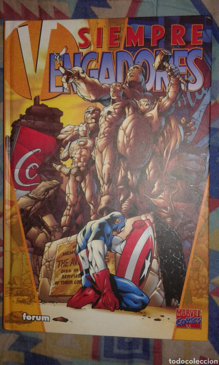 SIEMPRE VENGADORES: KURT BUSIEK-CARLOS PACHECO: FORUM (Tebeos y Comics - Forum - Prestiges y Tomos)