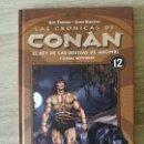 Cómics: LAS CRONICAS DE CONAN 12 MUY BUEN ESTADO. Lote 157737042