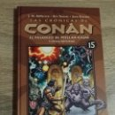 Cómics: LAS CRONICAS DE CONAN 15 EXCELENTE ESTADO. Lote 157774578