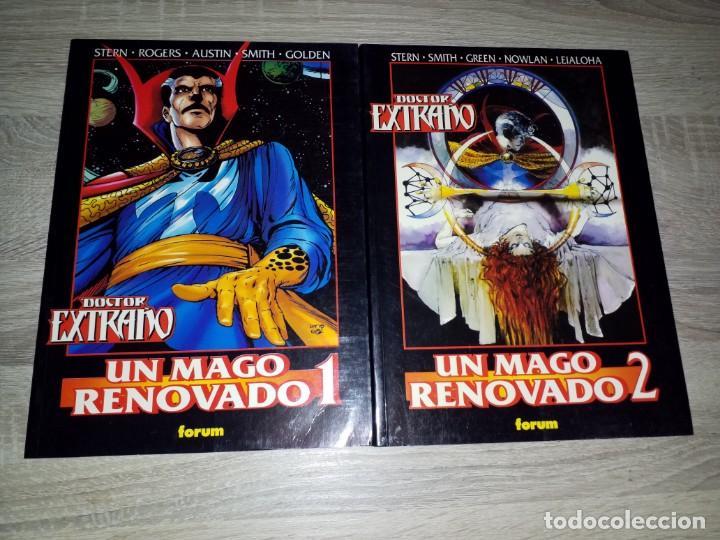2 TOMOS OBRAS MAESTRAS 33 Y 34 DOCTOR EXTRAÑO UN MAGO RENOVADO 1 Y 2 MUY BUEN ESTADO (Tebeos y Comics - Forum - Otros Forum)
