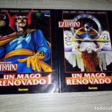 Cómics: 2 TOMOS OBRAS MAESTRAS 33 Y 34 DOCTOR EXTRAÑO UN MAGO RENOVADO 1 Y 2 MUY BUEN ESTADO. Lote 157775930