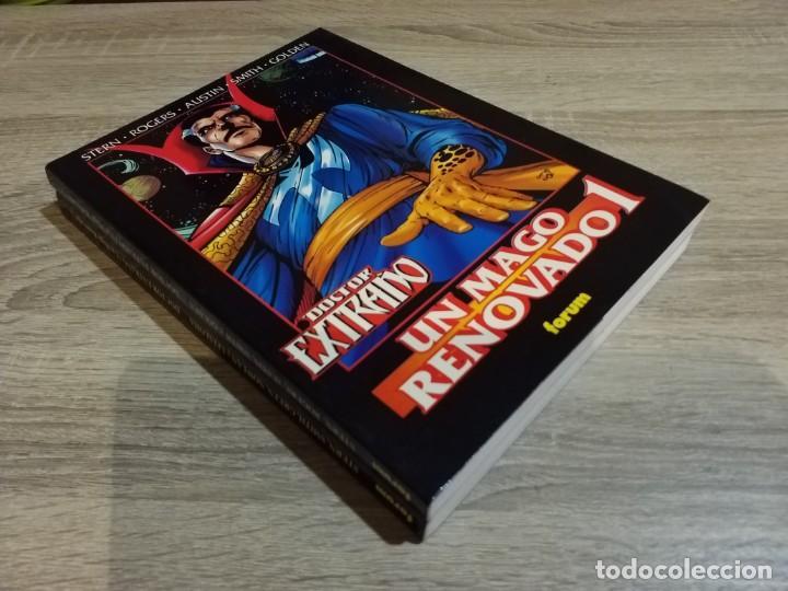 Cómics: 2 TOMOS obras maestras 33 y 34 doctor extraño un mago renovado 1 y 2 MUY BUEN ESTADO - Foto 2 - 157775930