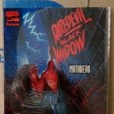 Comics: DAREDEVIL / BLACK WIDOW: MATADERO. NOVELAS GRÁFICAS MARVEL VOL. 2 19. FORUM. 1994. Lote 157818442