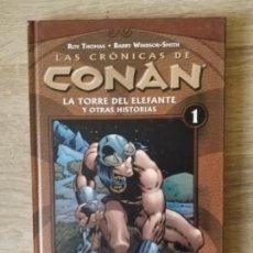 Cómics: LAS CRONICAS DE CONAN 1 MUY BUEN ESTADO. Lote 157733958