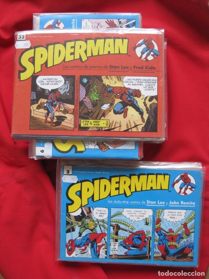 SPIDERMAN--LOS COMICS DE PRENSA-COMPLETA STAN LEE FRED KIDA--NUEVA -TIRAS DIARIAS--JOHN ROMITA FORUM (Tebeos y Comics - Forum - Spiderman)