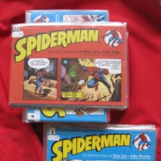 Cómics: SPIDERMAN--LOS COMICS DE PRENSA-COMPLETA STAN LEE FRED KIDA--NUEVA -TIRAS DIARIAS--JOHN ROMITA FORUM. Lote 158015334