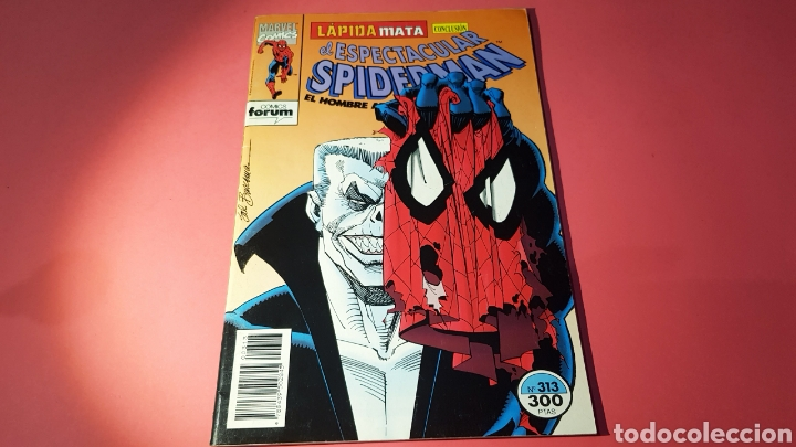 CASI EXCELENTE ESTADO SPIDERMAN 313 FORUM (Tebeos y Comics - Forum - Spiderman)