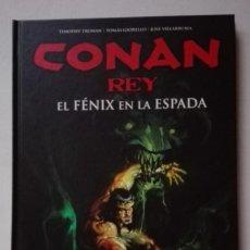 Cómics: CONAN REY. TOMO EL FÉNIX EN LA ESPADA. ED.PLANETA. DESCATALOGADO. SOLO LEÍDO UNA VEZ.. Lote 158328546