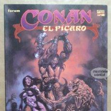 Cómics: CONAN EL PÍCARO - ROY THOMAS JOHN BUSCEMA - NOVELAS GRÁFICAS - MARVEL COMICS - JMV. Lote 158448022