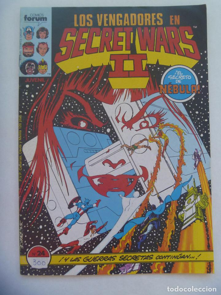 LOS VENGADORES EN SECRET WARS II , Nº 24 : ¡ EL SECRETO DE NEBULA ! (Tebeos y Comics - Forum - Vengadores)
