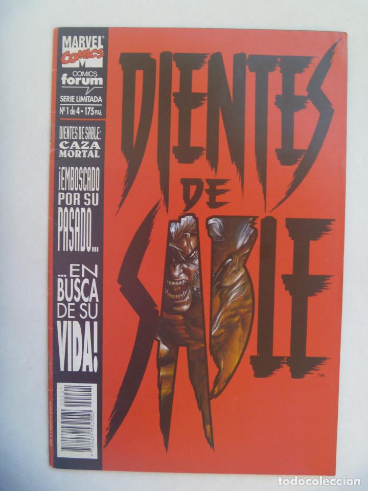 DIENTES DE SABLE , Nº 1 DE 4 : CAZA MORTAL (Tebeos y Comics - Forum - Otros Forum)