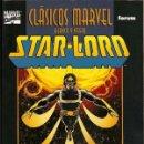 Cómics: STAR-LORD / CLÁSICOS MARVEL BLANCO Y NEGRO, 13 – FORUM, 05/2002   INCLUYE SAGA DE STARLORD. Lote 160816017